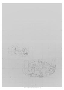 6 HACIA EL MAR Ciclos Dibujo A-3 B-W #03